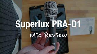 Superlux PRA-D1 Vocal Microphone Review (Dynamic XLR)