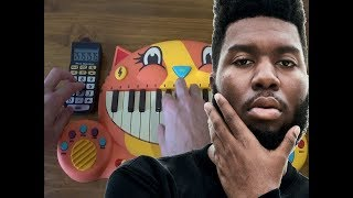 Khalid - Young, Dumb & Broke PLAYED ON A DRUM CALCULATOR AND A CAT PIANO