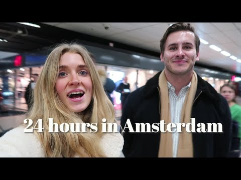 24 hrs in Amsterdam; this is what happened...
