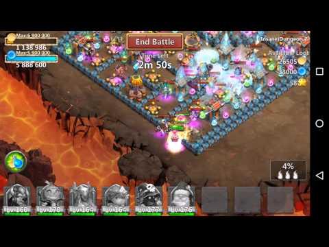 Castle Clash Insane 2-1