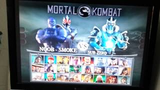 Mortal kombat deception all characters and costume