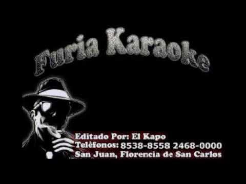 DE AMOR NO SE MUERE NADIE KIKE DE HEREDIA Y SU GRUPO CARNAVAL KARAOKE DEMO FURIA KARAOKE
