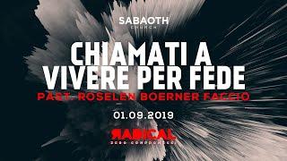 Domenica Gospel @ Milano | Chiamati a vivere per fede - Pastore Roselen | 01.09.2019