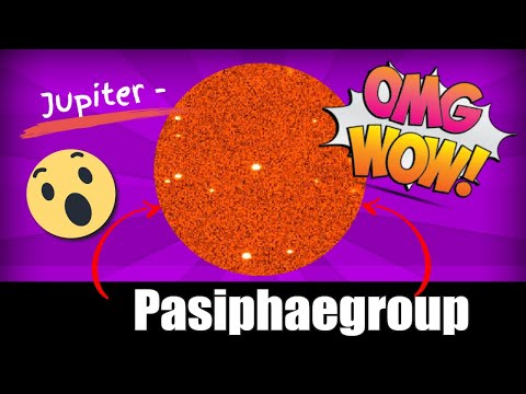 jupiter pasiphaegroup of moons real pictures