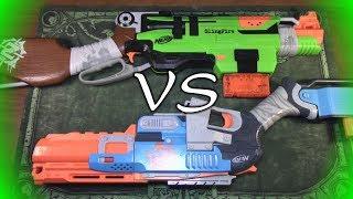 НЁРФ Следжфаер против Слингфаер // NERF Sledgefire vs Slingfire