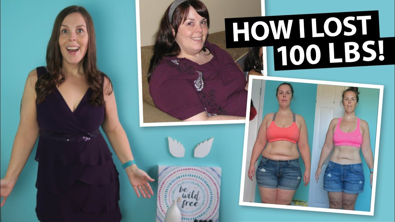 My 100 lb Weight Loss Transformation [Before & After ...