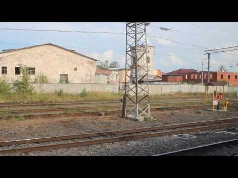 Прибытие на станцию Балезино