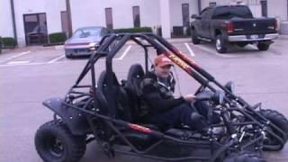 Kandi HiRev Go Kart 160cc Go Kart Demo Video