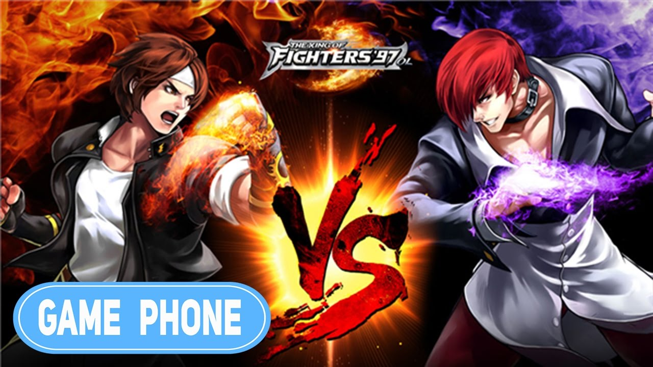 The King Of Fighter 97 OL - Gameplay APK [ Game Phone ...