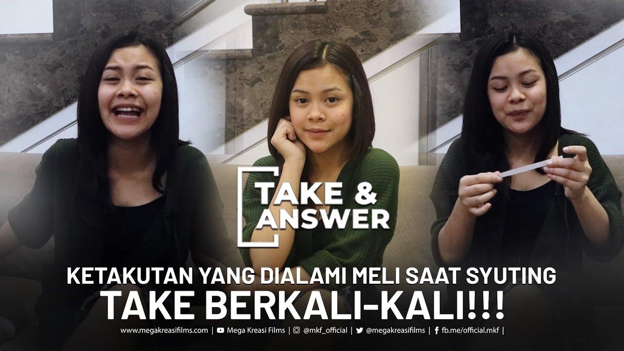 Take And Answer - Lelah Syuting atau Nyanyi ya ? Mana pilihan Meli ?