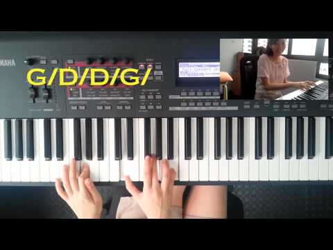 The Easiest Song to PLAY and SING by using only 2 chords: Jambalaya (PIANO TUTORIAL)