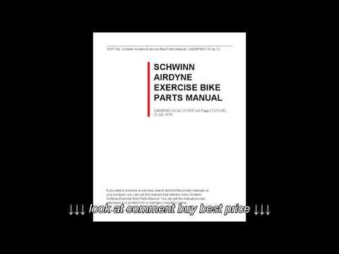 hqdefault schwinn airdyne exercise bike parts manual youtube