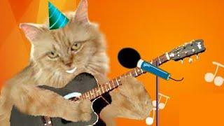 Cute Cats singing Happy Birthday (with Ukulele)!
