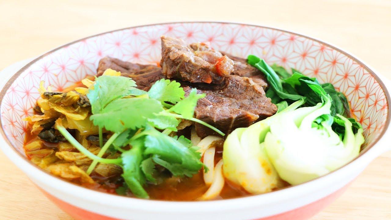 紅燒牛肉麵的家庭做法【美食天堂 CiCi's Food Paradise】 - YouTube