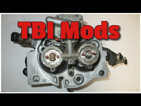 TBI mods, how to get the most power and Horse Power from your TBI engine.