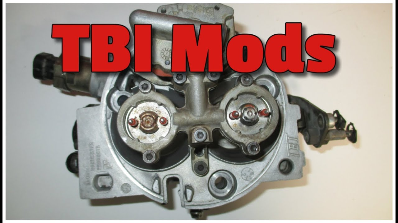 medium resolution of tbi mods how to get the most power and horse power from your tbi engine youtube