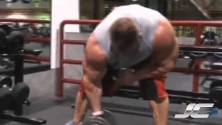 Jay Cutler biceps workout