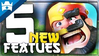 5 CLASH OF CLANS FEATURES THAT NEED TO BE IN CLASH ROYALE NOW! || Clash Royale Update Wishlist