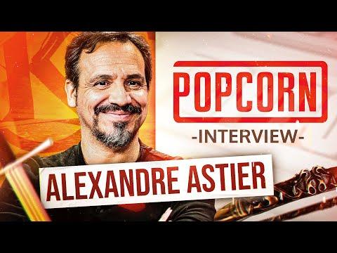 Alexandre Astier est dans Popcorn ! (Kaamelott, musique, le projet d'après...)
