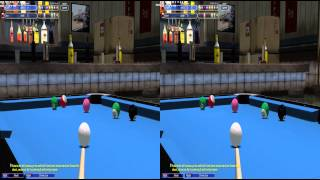 Virtual Pool 4 with 3D Vision (Test 2: 1080p)