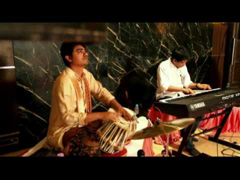 Ranjish hi Sahi | Instrumental Ghazal | Piano Tabla Live | RURRER - organic world music band