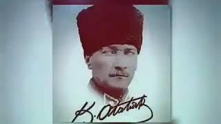 Sarı saçlım mavi gözlüm❤ Atatürk resimleri eşliğinde