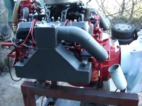 GM 6.2 L V8 Diesel - Marine - Start Engine.