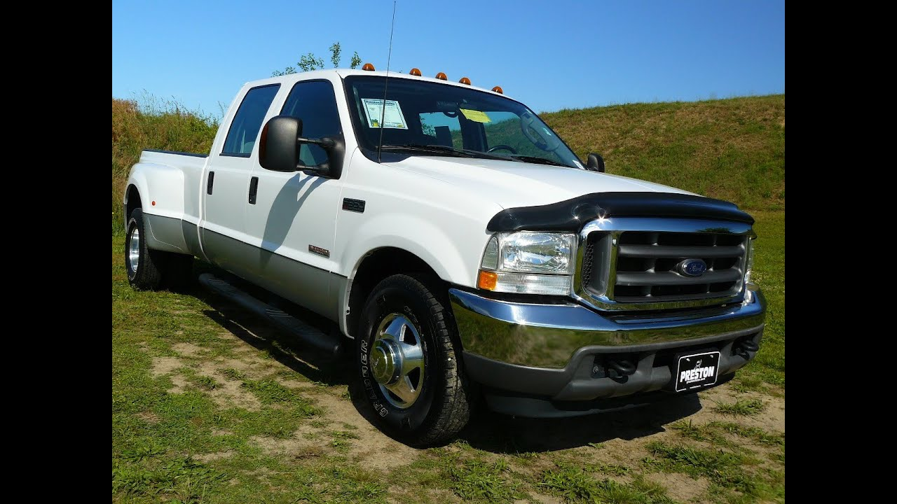 2003 ford f250 dually diesel 56000 miles rare truck used cars for sale in maryland c401180a youtube