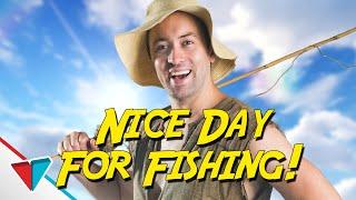 Morning! Nice day for fishing ain't it! Hu ha! - YouTube