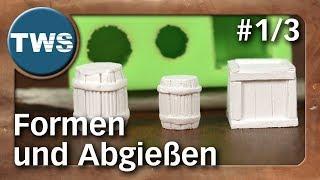 Atelier: Formen aus Silikon und Abgießen #1/3 / silicone molds (Tabletop-Zubehör, TWS)
