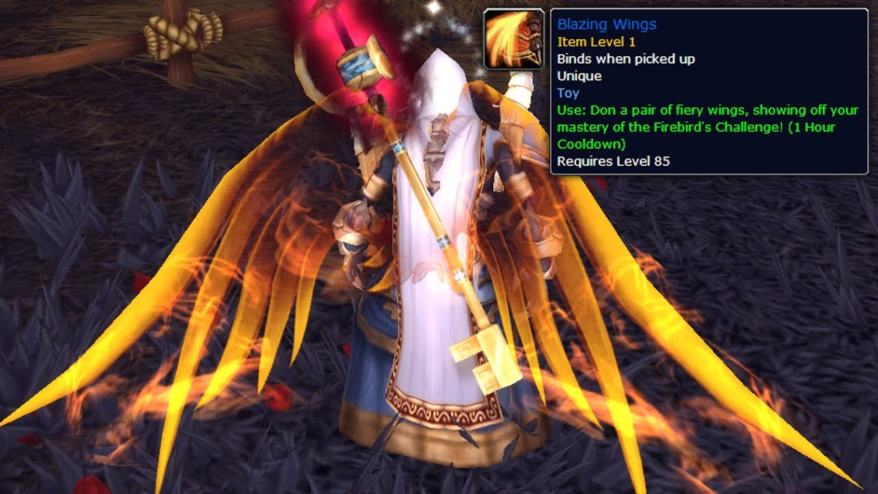 how to show cloak wow
