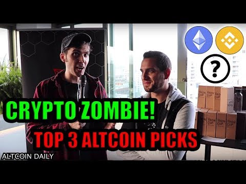 CRYPTO ZOMBIE'S TOP 3 ALTCOIN PICKS + TRON THOUGHTS [Full Interview Tron Event]