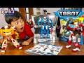 Tobot X Y Z BESAR   Digabung Jadi Apa Hayo     Young Toys Asli