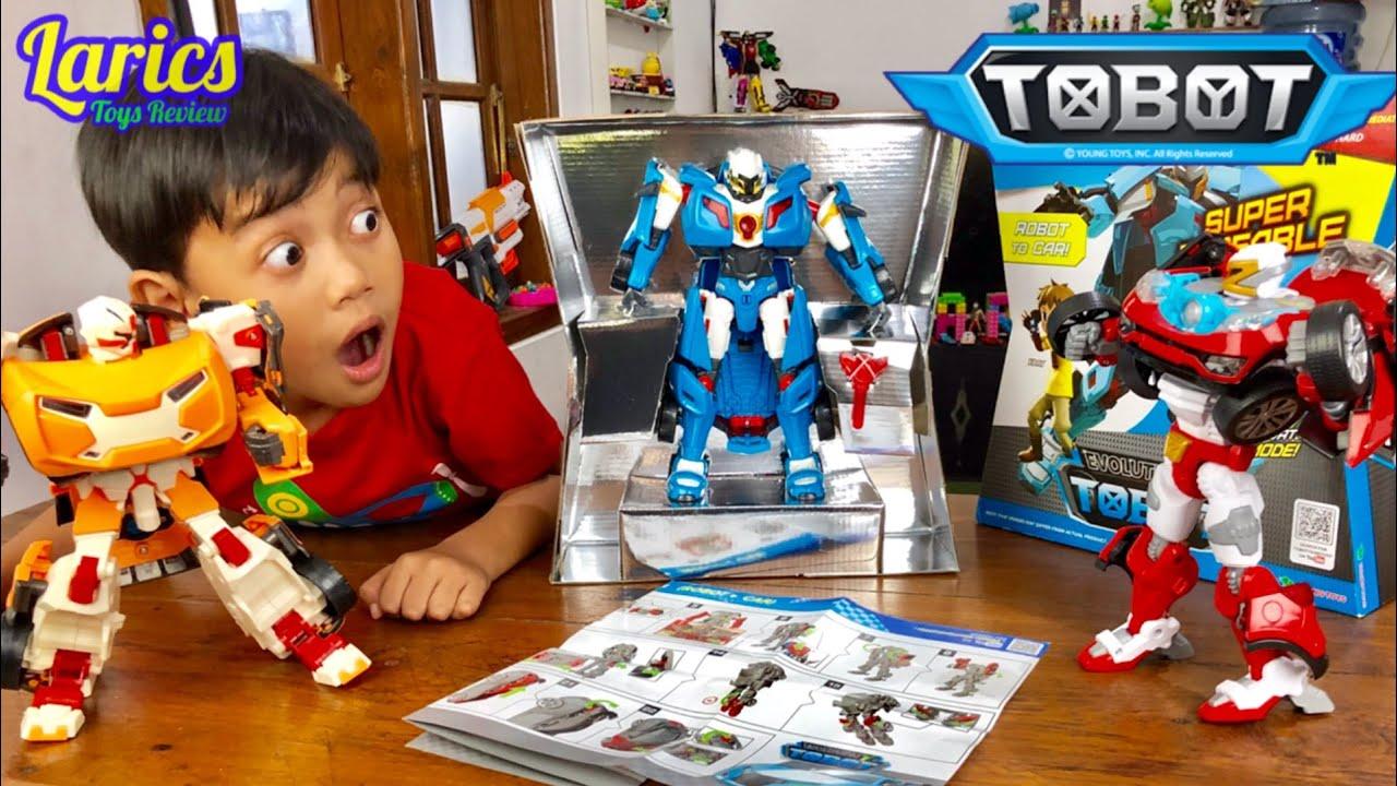 Tobot X Y Z BESAR - Digabung Jadi Apa Hayo ??? Young Toys Asli