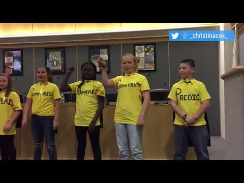 Oak students sing, dance '12 Powerful Words'