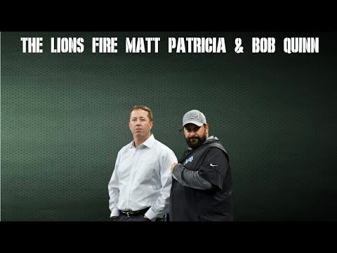 The Lions Fire Matt Patricia & Bob Quinn: Packcast with Tom Grossi