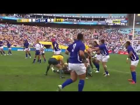 Australia v Samoa Full Game, Part 1