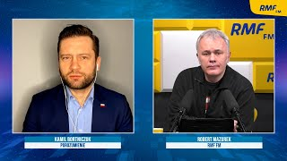 Bortniczuk: Już w kwietniu Jarosław Gowin chciał zmienić front i przejść do opozycji