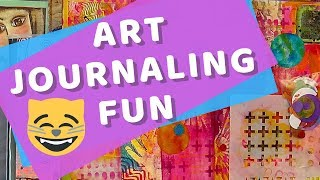 Art Journal Fun LIVE - with Barb Owen - HowToGetCreative.com