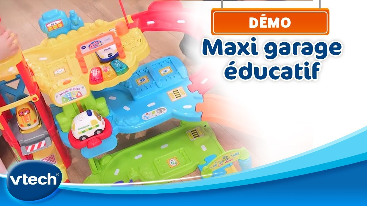 Vtech maxi garage ducatif tut tut bolides rose au - Garage educatif tut tut bolides rose ...