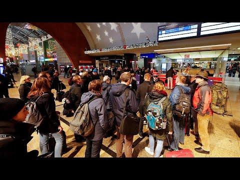 -السترات الصفراء- تصل ألمانيا بإضراب موظفي شركة السكك الحديدية…  - 11:54-2018 / 12 / 10