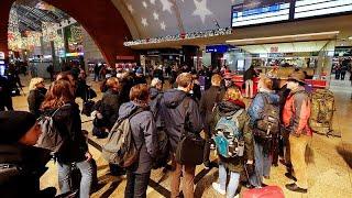 """""""السترات الصفراء"""" تصل ألمانيا بإضراب موظفي شركة السكك الحديدية…"""
