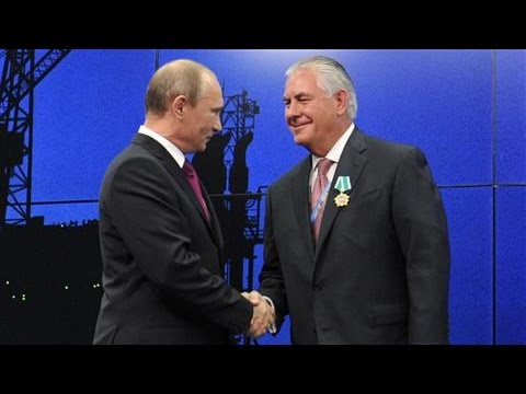 Tillerson and Putin: When the Oilman Met the Strongman