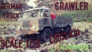 cross rc gc4 gaz 66 crawler scaler russian truck 1 10