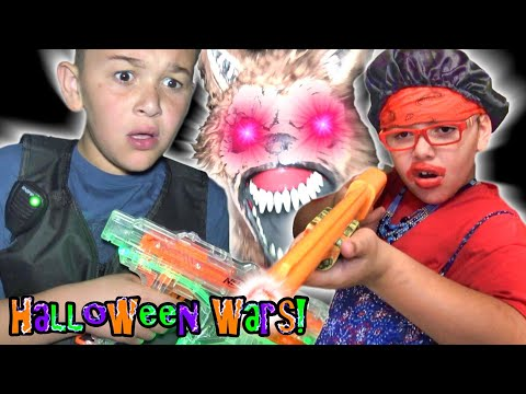 Halloween Came Early! Werewolf Wars with Beast Squad! |