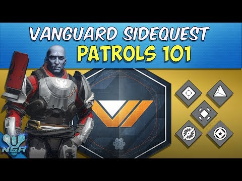 Destiny -  Complete - Gameplay - Walkthrough - Patrols 101 - Vanguard Side Quest Mission - PS4