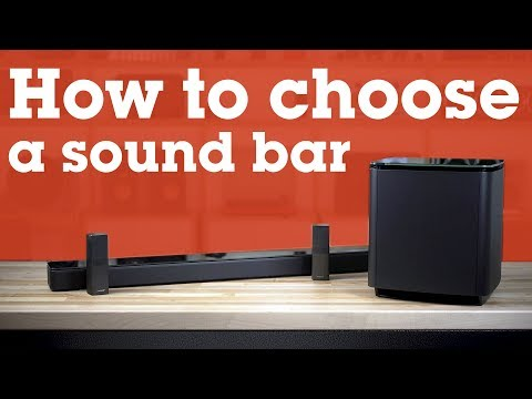 How to choose a sound bar | Crutchfield