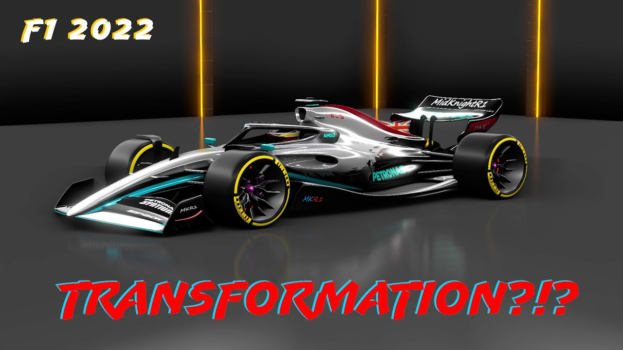 F1 2022 Concept Mercedes To Red Bull Transformation Youtube