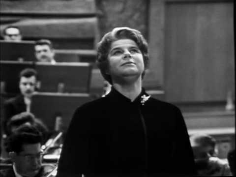 Irmgard Seefried sings Mahler