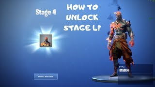 How To UNLOCK STAGE 4 The Prisoner skin in Fortnite (Position de carte)
